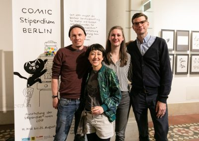 05 Preisträger Gruppenfoto Comicstipendium (c) MSPT